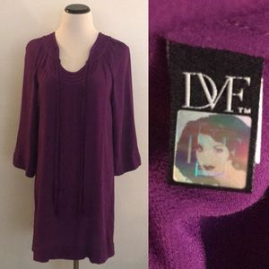 Diane Von Furstenberg Parlian Mini Tunic Dress